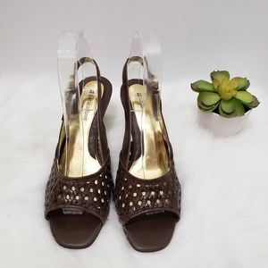 Naturalizer Leather heels size 8